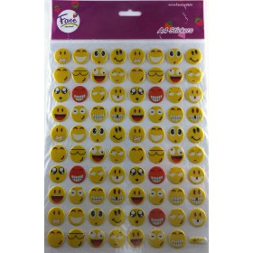 A4 EMOJİ STICKER